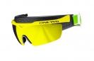One Way langrennsbrille og snøskjerm Yellow