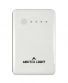 Arctic Light Powerbank 8000 mAh White