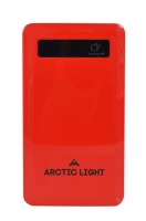 Arctic Light Powerbank 4000 mAh red