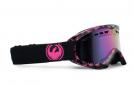 Dragon DXS Pink  Logo og Amber Goggles