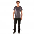 Mons Royale Men's T-shirt Slim fit  Gun Metal