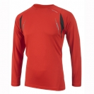 Ronhill Advance  L/S Crew Lpetrye, herre, Chillipepper/black