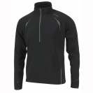 Ronhill Advance Fusion 1/2 zip polo, herre