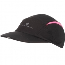 Ronhill VIZION Caps, Black/Fluo Pink
