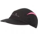 Ronhill VIZION Caps, Black/Fluo Pink