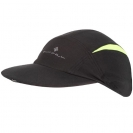 Ronhill VIZION Caps, Black/Fluo Yellow